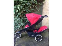 Phil & Teds double buggy + extras