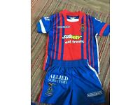 Inverness Caledonian Football Strips Age 2-3