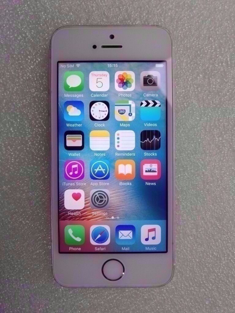 APPLE IPHONE SE 16GB EE WITH RECEIPT
