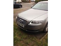 audi a6 spares repairs. starts and drives.