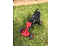 GO KART for 3+years Colour Red & Black