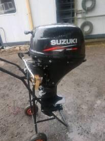 2014 suzuki df shortshaft 15hp