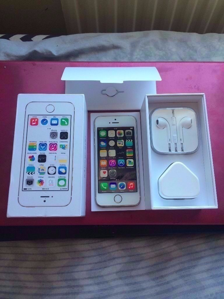 iphone 5s gold brand new never used unlocked to all networks boxed with all accessories selling as gin Newham, LondonGumtree - iphone 5s gold brand new never used unlocked to all networks boxed with all accessories selling as got new upgrade