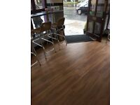 All domestic and commercial flooring, carpets, vinyl and laminate