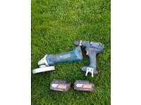 Drill and grinder set