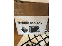 Halfords 40 litre electric coobox - Used Once, Still Boxed £50