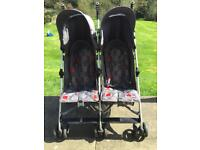 Twin / Double Stroller Pushchair - Mothercare XOOB2