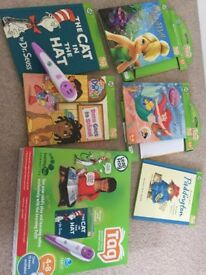 LeapFrog Tag system and books