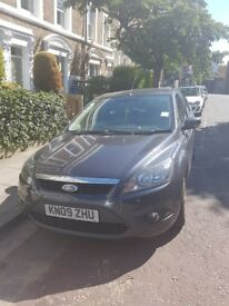 Dark grey ford focus selling good condition