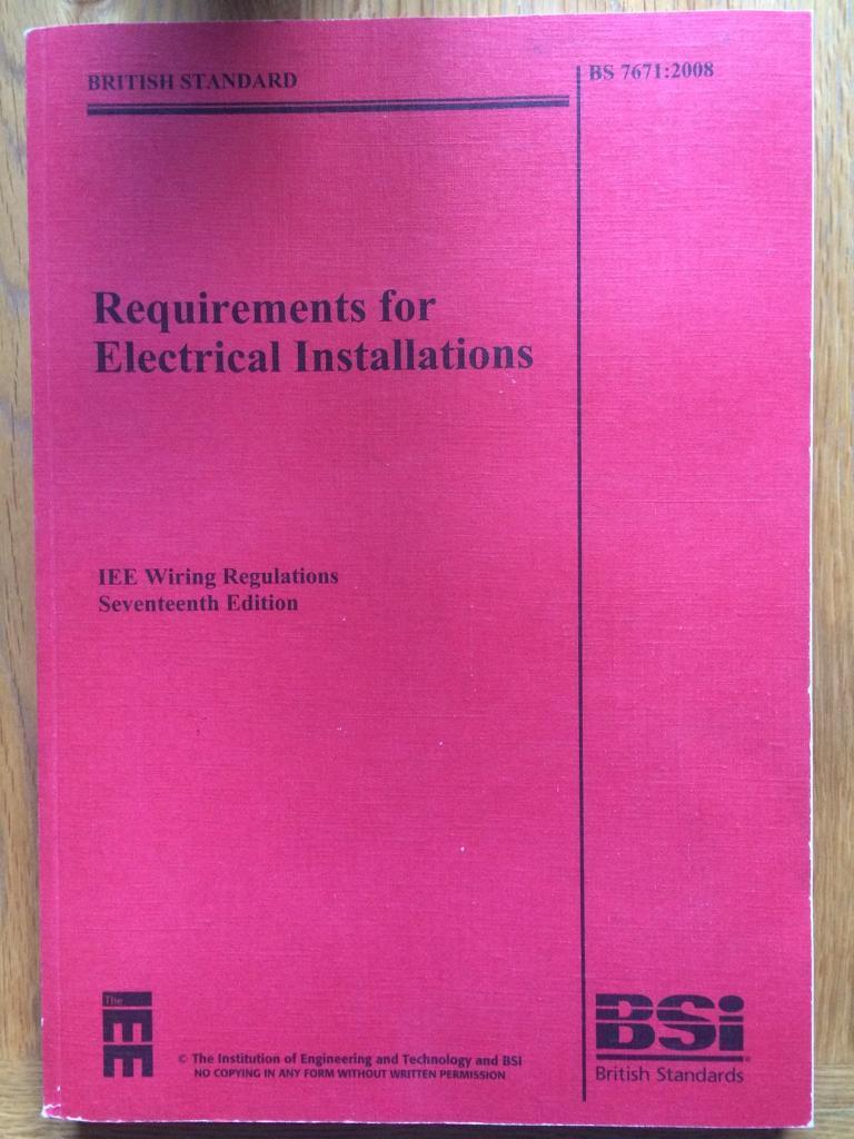 Iee 17th Edition Regulations In Quinton West Midlands Gumtree Iet Wiring Regs Books