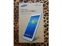 New unopened Sealed Samsung Galaxy Tab 3 7 inch Wi-Fi white tablet