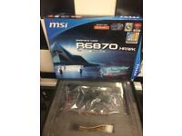 Msi r6870 hawk graphics card