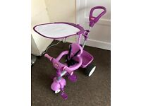 Little Tikes 4 in 1 Toddler Trike Tricycle - Purple / Pink