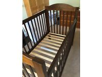 Solid wood Cot/Toddler bed