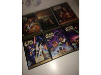 Star Wars saga episodes 1-6