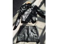 REAL LEATHER LADIES SUIT