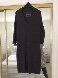 Dark grey, Principles ben de lisi body con dress, size 12 - £7