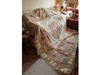 Throw quilt throwover patchwork quilt