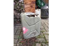 Petrol can army surplus can
