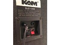 PA/disco/club speaker Kam DJZ- 1250