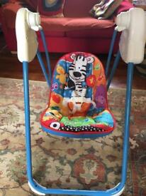 Fisher Price baby swing chair with music