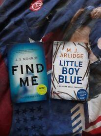 Two crime thriller books