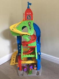 Fisher Price Little People Sit n Stand Skyway Building Set