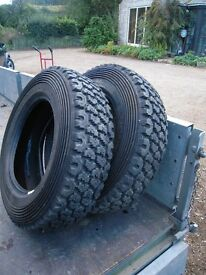 """13"""" rally / winter / trailer tyres"""