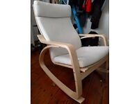 Ikea Poang rocking / nursing chair - great condition