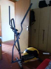 Gold Gym Cross trainer - Excellent condition!