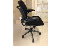 FREE SAME-DAY DELIVERY - Humanscale Freedom Task Ergonomic Office Chair in Black