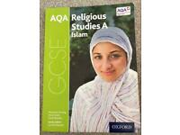AQA Religious studies A Islam textbook.
