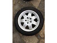 """Set of Mercedes alloy wheels 16"""""""