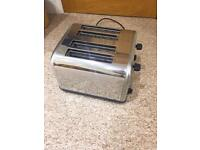 4 slot toaster! Only used once!