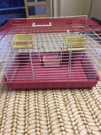 2 Small Bird/Parrot Cage