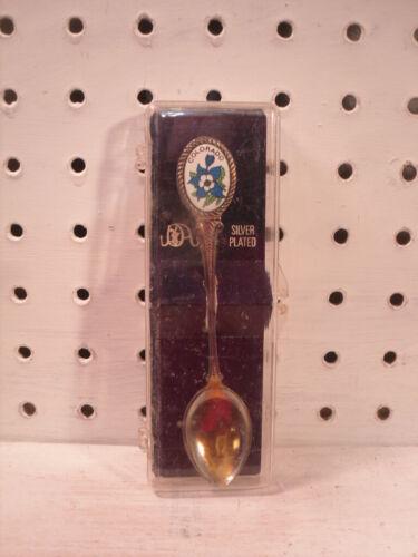 Colorado Silver Plated Souvenir Spoon in Box