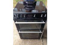 £134.87 Belling Black ceramic electric cooker+60cm+3 months warranty for £134.87