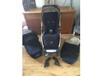 Mamas & Papas armadillo flip xt pram and carrycot