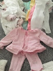 Baby vests and baby grows