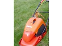 flymo electric lawn mower, very good condition