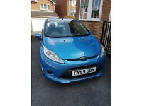 FORD FIESTA ZETEC S 1.6, BLUE, 59 PLATE, IMMACULATE CONDITION, LADY OWNER