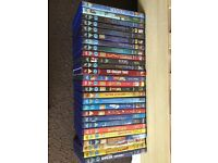 selection of Disney DVDs
