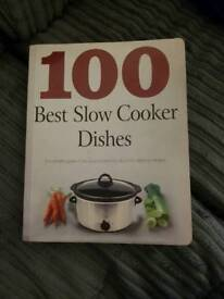 Recipe book for slow cooker for sale.
