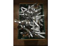 JOB LOT OF BRAND NEW HOUSEHOLD CUTLERY ITEMS OPEN TO SENSIBLE OFFERS