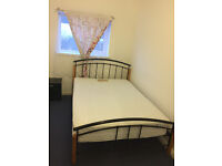 Double room, North London.
