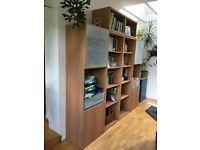 Bookcase/storage units