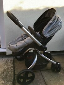 Mothercare spin pushchair