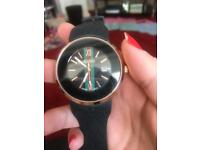 Real Gucci men's black watch