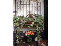 Wrought Iron decorative large planter