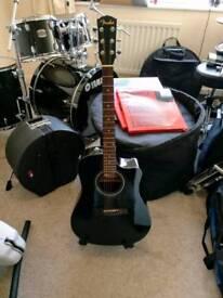 Fender electroacoustic guitar